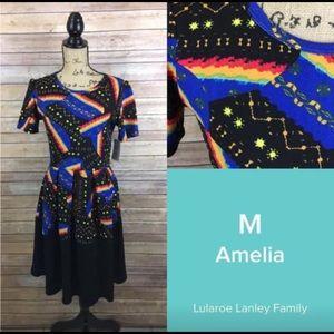 NWT Lularoe Amelia Dress - Medium